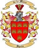 de la Mora Family Coat of Arms from Spain