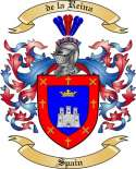 de la Reina Family Coat of Arms from Spain