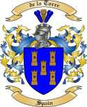 de la Torre Family Crest from Spain2