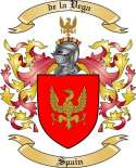 de la Vega Family Crest from Spain2