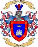 de los Reyes Family Coat of Arms from Spain