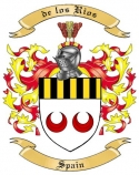 de los Rios Family Coat of Arms from Spain2