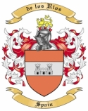de los Rios Family Coat of Arms from Spain