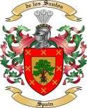 de los Santos Family Coat of Arms from Spain