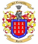 del Campillo Family Coat of Arms from Spain