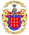 del Campo Family Coat of Arms from Spain