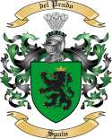 del Prado Family Coat of Arms from Spain