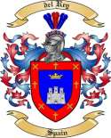 del Rey Family Coat of Arms from Spain