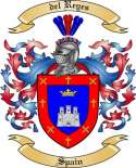 del Reyes Family Crest from Spain