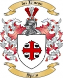 del Rincon Family Crest from Spain