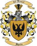 del Rosal Family Coat of Arms from Spain