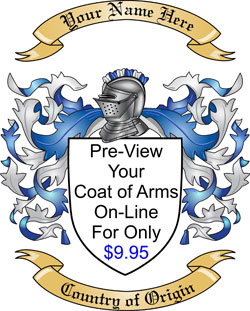 Allee Family Coat of Arms from Ireland