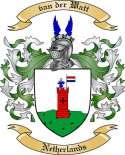 van der Watt Family Coat of Arms from Netherlands