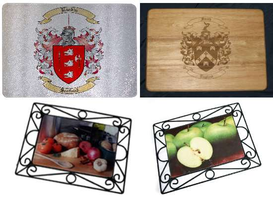 Tempered Glass Cutting Boards or a Wood Cutting Board for the Kitchen