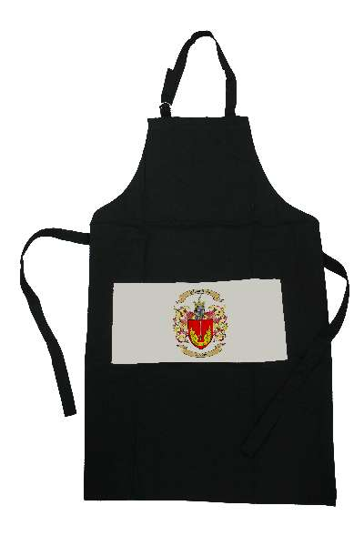 Apron with Family Crest / Coat of Arms
