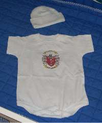 Baby Gift Set for a Onesie and Newborn Cap