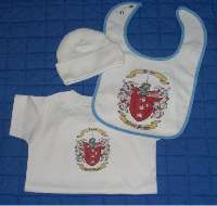 Baby Gift Set Three: T-Shirt - Bib and Newborn Cap