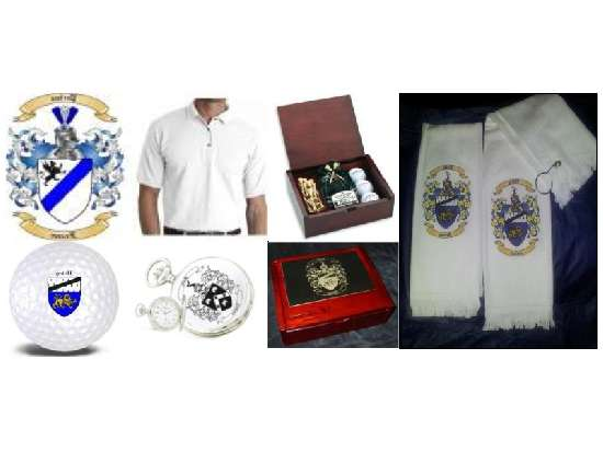 Corporate Gift � Unique Golf Gifts with Coat of Arms