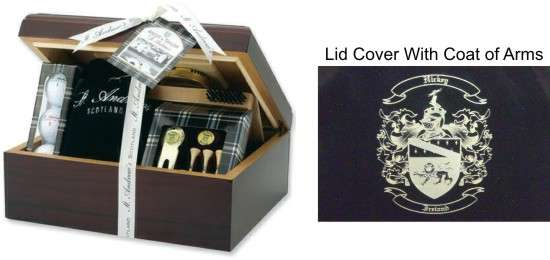 Humidor Golf Set Case � Executive Gifts