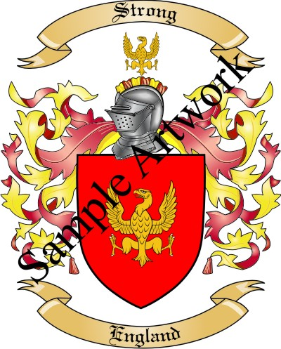 Family Shield Of Your Coat Of Arms And Crest Emailed In High