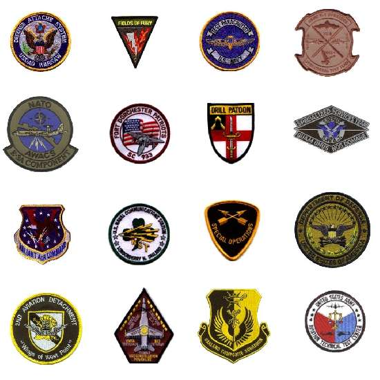 Custom Blazer Badges for Company & Military/Police to a Personalized