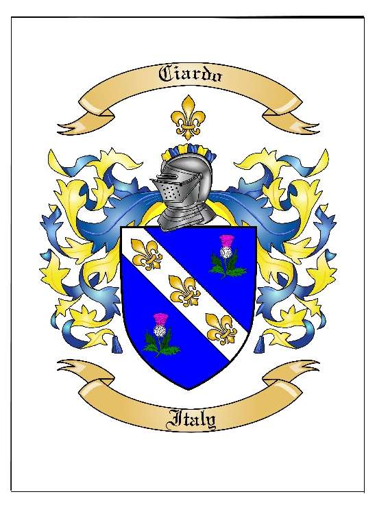 For example weddings are an excellent place to show the coat of arms and