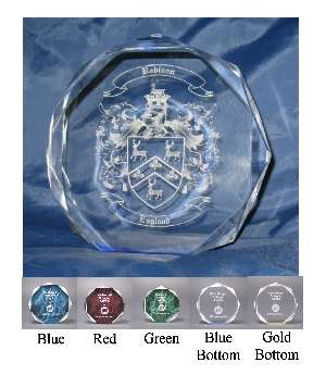 Family Crest Paperweight � Coat of Arms Display