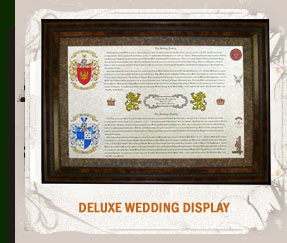 Deluxe Wedding Display