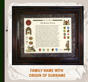 Family Name with Origin of Surname.