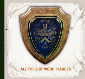 All Types of Wood Plaques