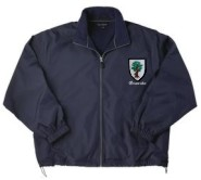 Embroidered Men's Jacket – Fleece Lined Jacket for Men with Coat of Arms