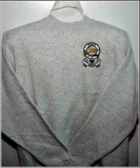 Embroidered Mens Sweatshirts – Sweat Shirt with Coat of Arms