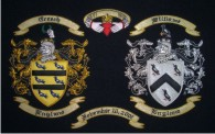 Embroidery - Double Coat of Arms