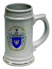 Beer Stein with Family Crest / Coat of Arms