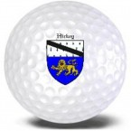 Personalized Golf Balls with Coat of Arms