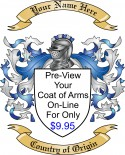 On Line Preview of Your Coat of Arms