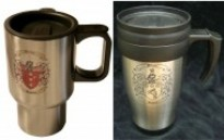 Travel Mug with Family Crest