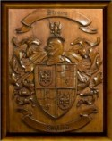 Custom Coat of Arms WOod Carvings