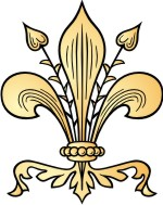 Advanced Fleur de lis Clip Art for Custom Coat of Arms