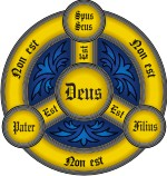 Advanced Religious Symbol 1 Trinity Shield