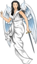 Advanced Religious Symbol 4 Angel in White