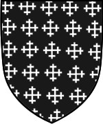 Shield Layout 20 with Semee of Crosslets