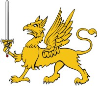 Simplistic Dragon-Griffin 6 with Sword