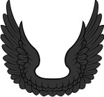 Simplistic Eagle-Falcon 4 Wings Conjoined