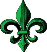Fleur de lis for Custom Coat of Arms & Family Crest Clip Art