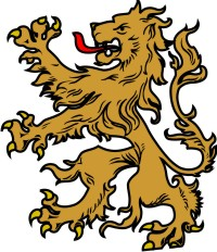 lion clip art for your coat of arms created by the tree maker