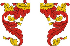 Mantling Clip Art for Your Custom Family Coat of Arms