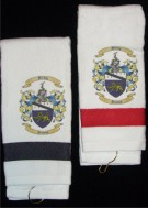 Personalized Golf Towels / Corporate Gift with Coat of Arms